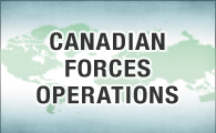 Canadian Forces operations